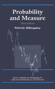 Cover of: Probability and Measure | Patrick Billingsley
