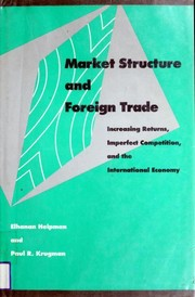 Cover of: Market Structure and Foreign Trade