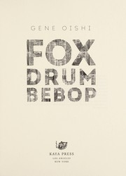 Cover of: Fox Drum Bebop | Gene Oishi