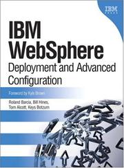 Cover of: IBM WebSphere | Roland Barcia