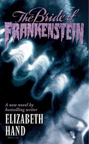 Cover of: The bride of Frankenstein: Pandora's bride