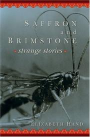 Cover of: Saffron And Brimstone