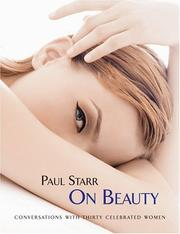 Cover of: Paul Starr on Beauty | Paul Starr
