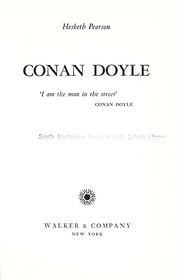 Cover of: Conan Doyle: his life and art