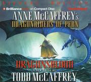 Cover of: Dragonsblood (Dragonriders of Pern)