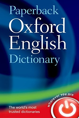 Paperback Oxford English Dictionary by unknown