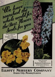 Cover of: We have searched the world for the best flower seeds for you