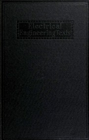 Cover of: Electrical measurements | Frank A. Laws