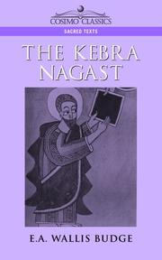 Cover of: The Kebra Negast | Ernest Alfred Wallis Budge