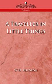 Cover of: A Traveller in Little Things
