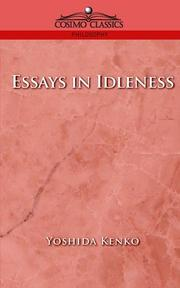 Cover of: Essays in Idleness