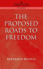 Cover of: Proposed roads to freedom: socialism, anarchism and syndicalism