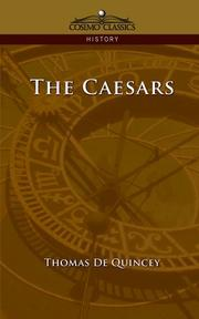 Cover of: The Caesars