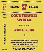 Cover of: Counterfeit world. | Daniel F. Galouye