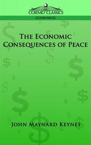 Cover of: The Economic Consequences of Peace