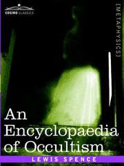 Cover of: An Encyclopaedia of Occultism