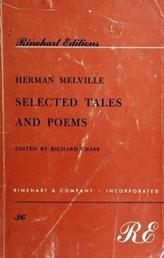 Cover of: Selected Tales and Poems