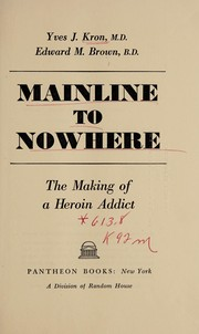 Cover of: Mainline to nowhere | Yves J. Kron
