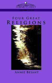 Cover of: Four Great Religions (Cosimo Classics Sacred Texts) | Annie Wood Besant