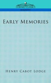 Cover of: Early Memories