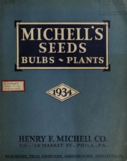 Michells seeds, bulbs, plants, 1934