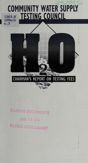 Chairmans report on testing fees