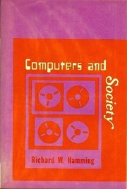 Cover of: Computers and society | R. W. Hamming