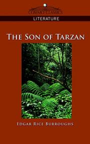 Cover of: The Son of Tarzan by Edgar Rice Burroughs