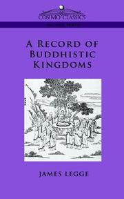 Cover of: A Record of Buddhistic Kingdoms