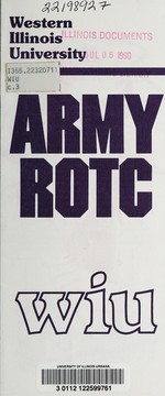 Cover of: Army ROTC