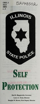 Cover of: Self protection | Illinois State Police