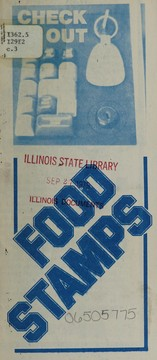 Cover of: Food stamps | Illinois. Department of Public Aid