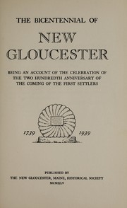 The bicentennial of New Gloucester