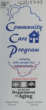 Cover of: Community Care Program-- | Illinois. Department on Aging