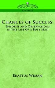 Cover of: Chances of success