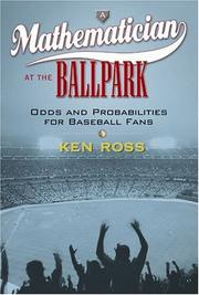 Cover of: A mathematician at the ballpark