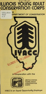 Cover of: Illinois Young Adult Conservation Corps | Illinois Young Adult Conservation Corps