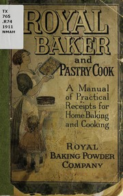 Royal baker and pastry cook