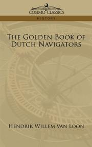 Cover of: The Golden Book of Dutch Navigators