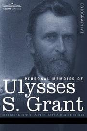 Cover of: Personal memoirs of Ulysses S. Grant