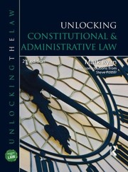 Cover of: Unlocking Constitutional & Administrative Law (Unlocking the Law) (Volume 1)
