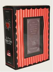 Cover of: Tim Burton's Oyster Boy Book and Voodoo Girl Figure Boxed Set (Tim Burton's Tragic Toys for Girls and Boys)