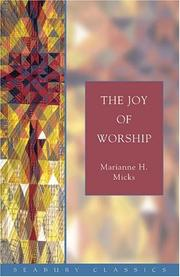 Cover of: The Joy Of Worship