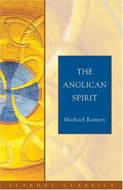 Cover of: Anglican Spirit | Michael Ramsey