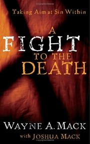 Cover of: A fight to the death