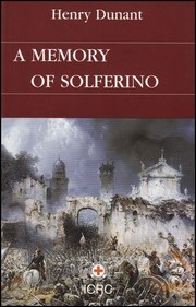 Cover of: A Memory of Solferino |