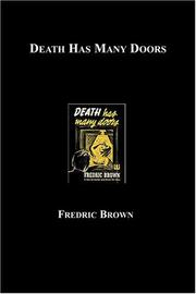 Cover of: Death has many doors