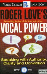Cover of: Roger Love's Vocal Power
