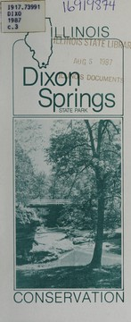 Cover of: Dixon Springs State Park | Illinois. Department of Conservation