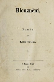 Cover of: Blouzněni